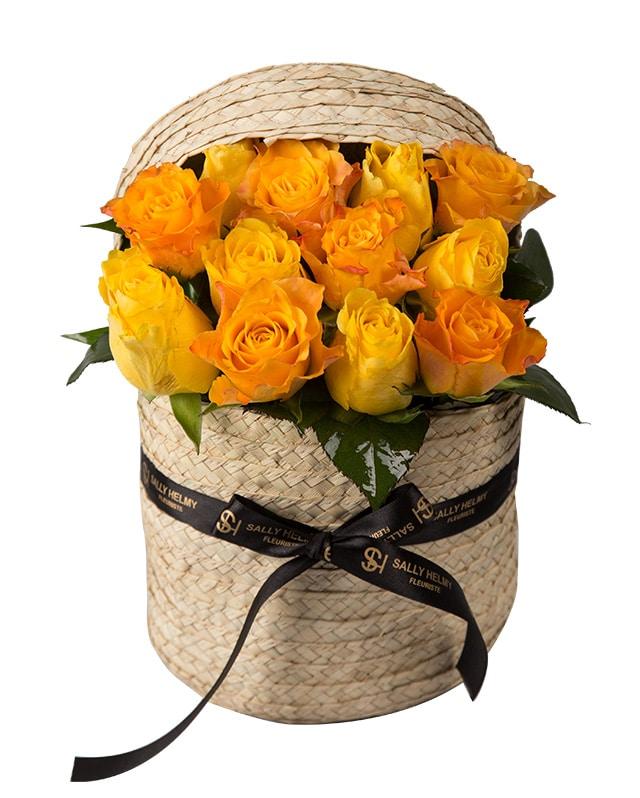الورد البرتقالي -سالي حلمي - مصر