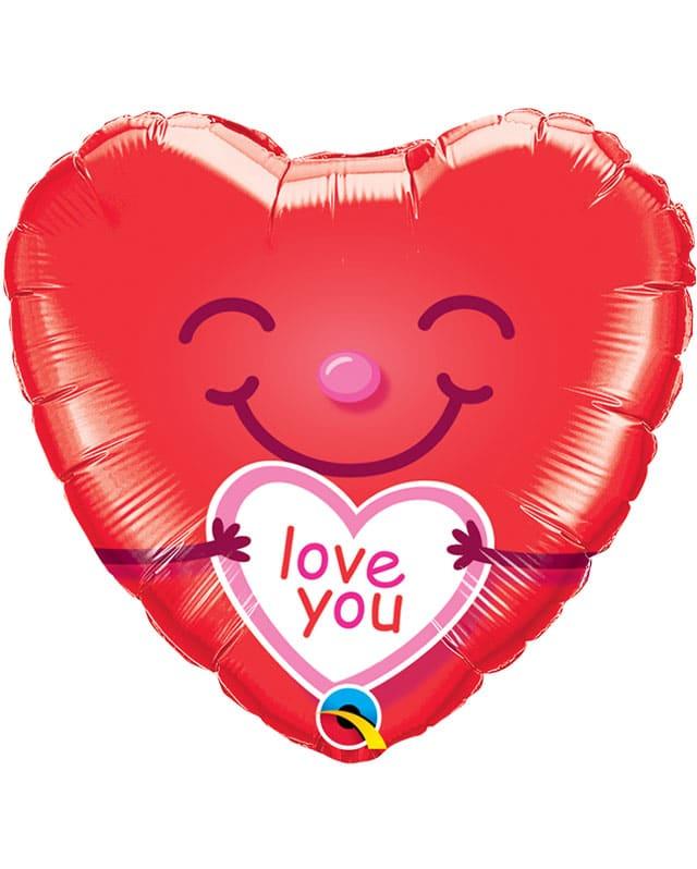 Love You Smiley Heart-Sally Helmy - Egypt