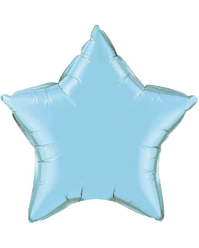 Pearl Light Blue Star-Sally Helmy - Egypt