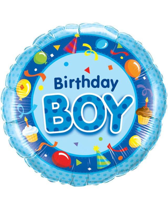 Birthday Boy (Blue)-Sally Helmy - Egypt