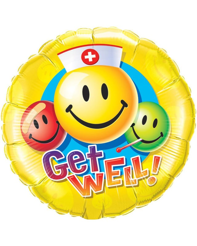 Get Well Smiley Faces-Sally Helmy - Egypt