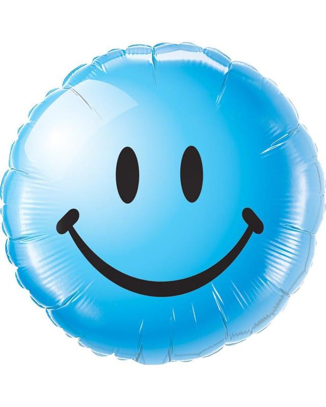 Smiley Face (Blue)-Sally Helmy - Egypt