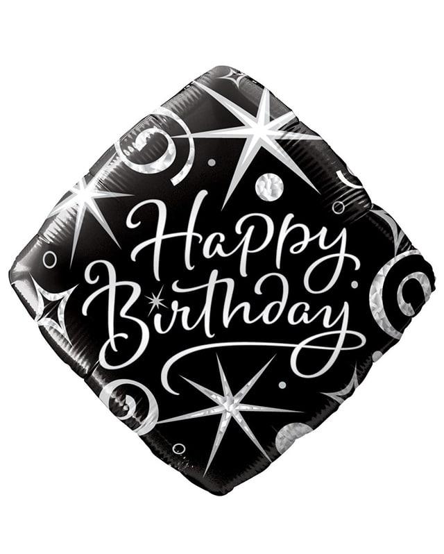 Birthday Elegant Sparkles & Swirls-Sally Helmy - Egypt