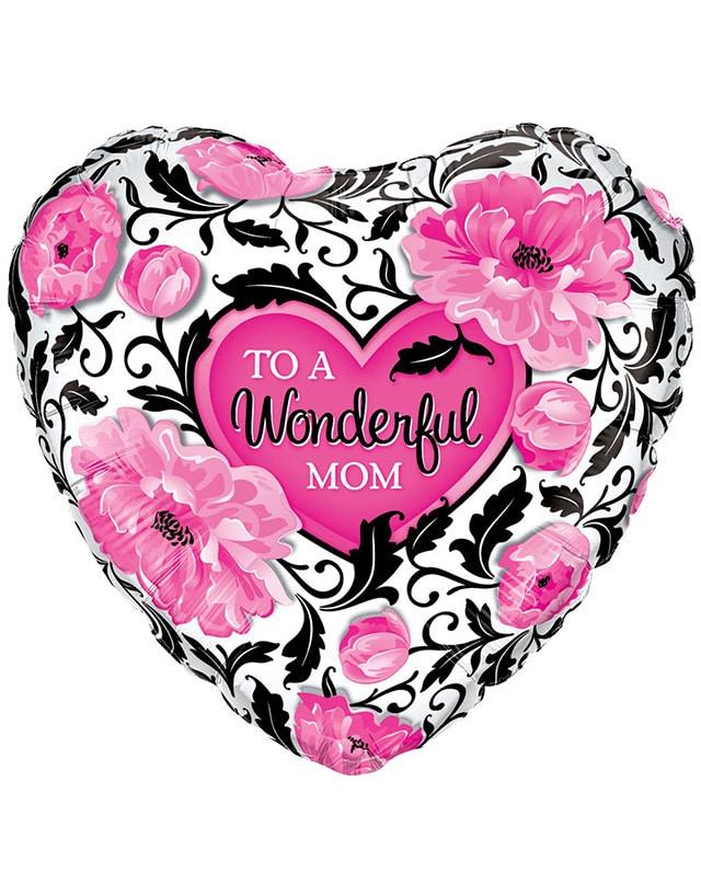 Wonderful Mum Floral Damask-Sally Helmy - Egypt