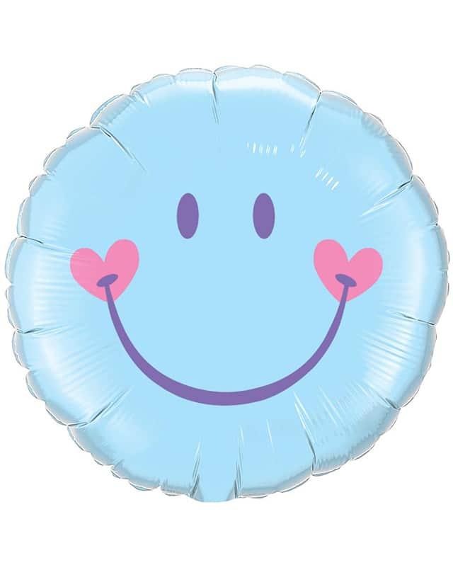 Sweet Smile Face (Blue)-Sally Helmy - Egypt
