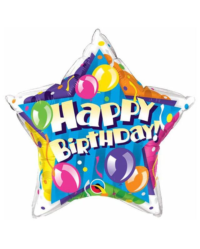 Birthday Sparkling Balloons Star-Sally Helmy - Egypt