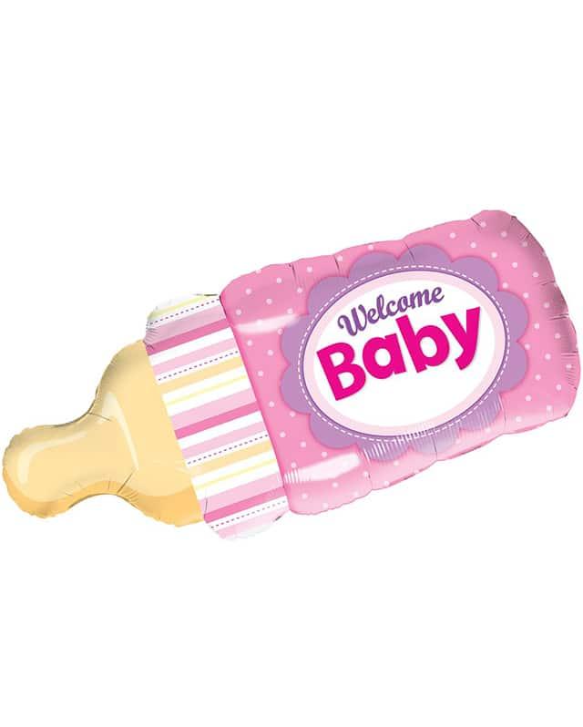 Welcome Baby Girl Bottle-Sally Helmy - Egypt