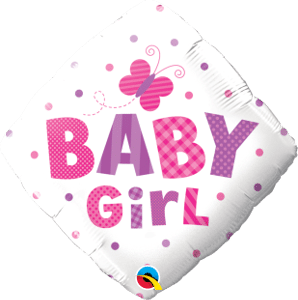 Baby Girl Dots & Butterfly-Sally Helmy - Egypt