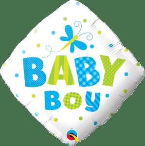 Baby Boy Dots & Dragonfly-Sally Helmy - Egypt
