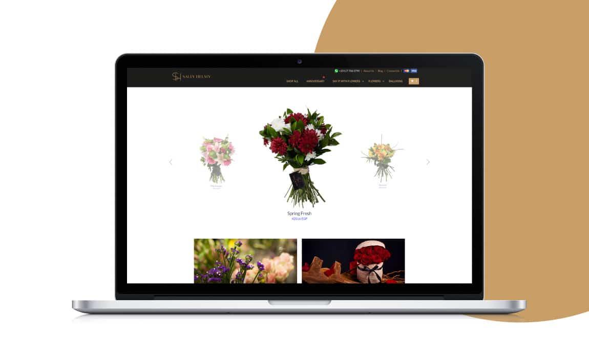 5 Steps To Send Flowers Online-Sally Helmy - Egypt