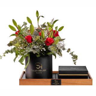Elegance Flowers With Chocolate-Sally Helmy - Egypt