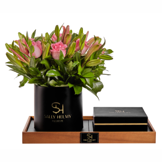 Luxury Flowers With Chocolate-Sally Helmy - Egypt